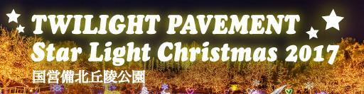 TWILIGHT PAVEMENT Star Light Christmas 2017